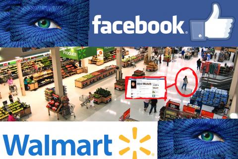 Facial recognition retail
