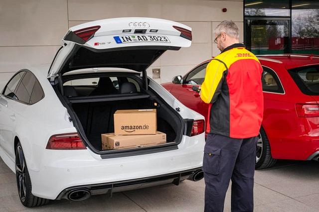 Amazon entrega en su auto