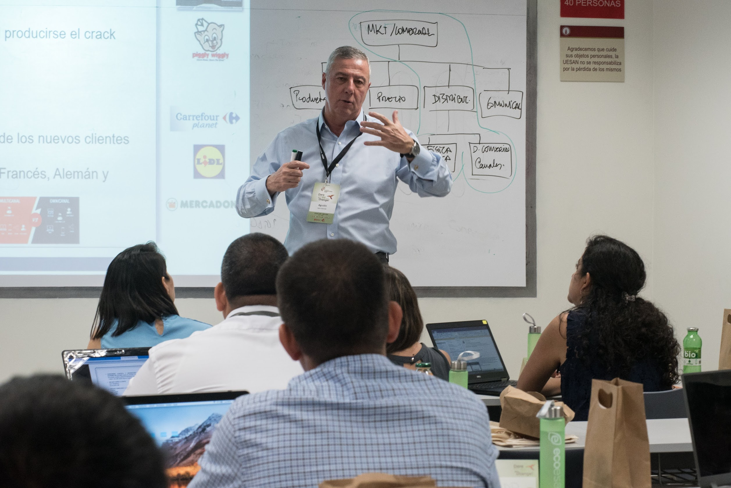 Agustín López-Quesada del Retail Institute participó en la semana internacional de ESAN